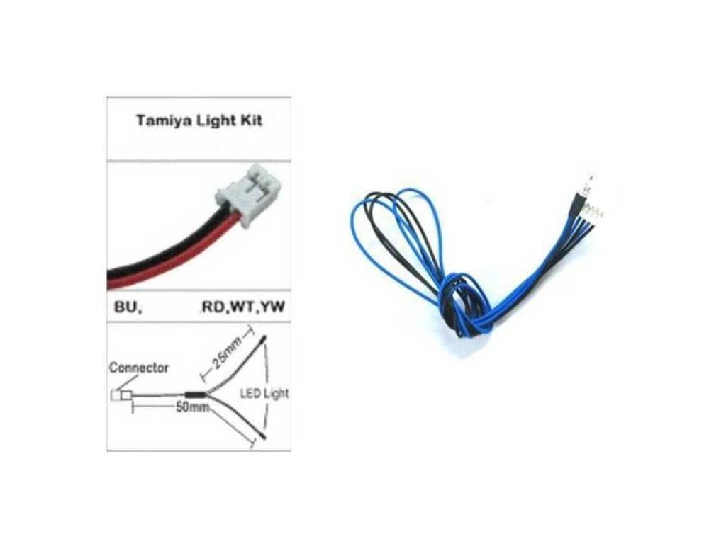3mm blue leds   wiring for tamiya led light unit tlu