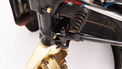 Black alloy FRONT & REAR Link Mount Suspension Kit to suit Traxxas TRX4  TRX-4